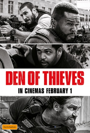 Den of Thieves Film Poster