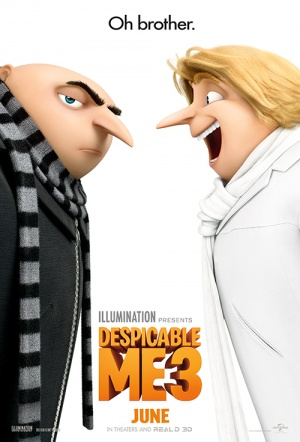 Despicable Me 3 Film Poster