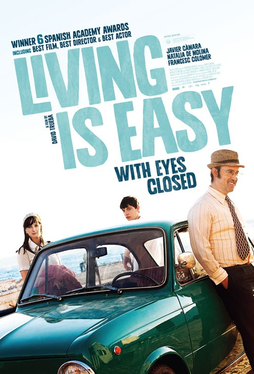 Living is Easy with Eyes Closed Film Poster