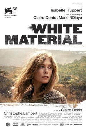 White Material Film Poster