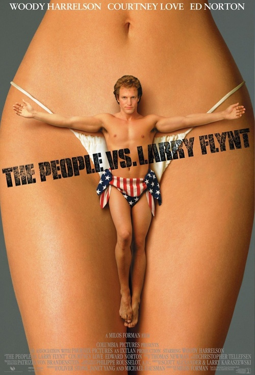 The People vs Larry Flynt Film Poster