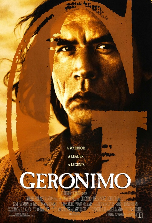 Geronimo: An American Legend Film Poster