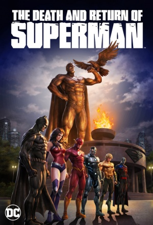 Double Feature: The Death of Superman / Reign of the Supermen Film Poster