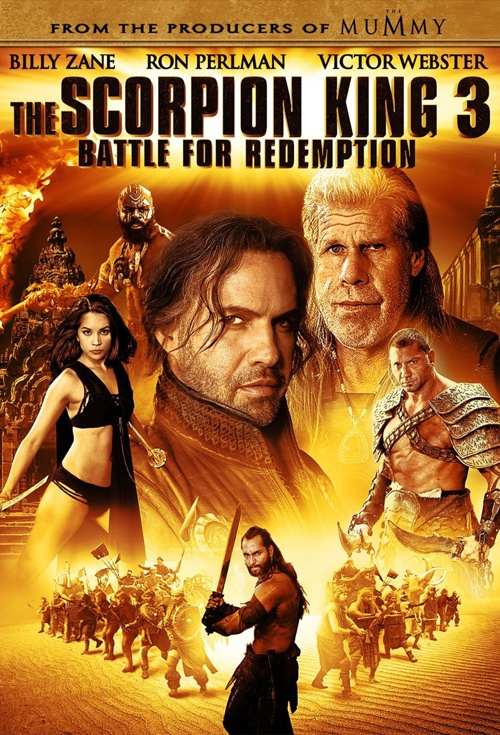 The Scorpion King 3: Battle for Redemption Film Poster