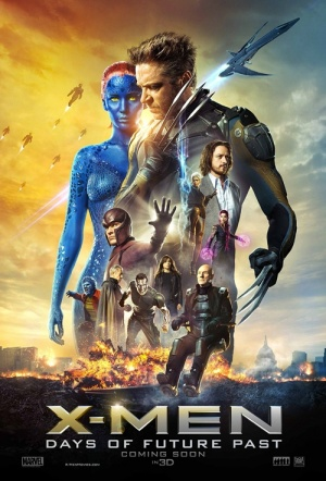 X-Men: Days of Future Past 3D Film Poster