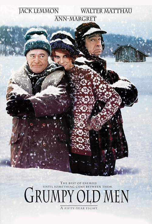 Grumpy Old Men Film Poster