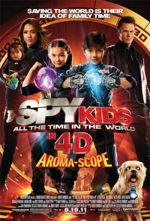 Spy Kids 4: All The Time In The World 3D