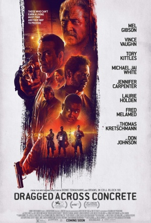 Dragged Across Concrete Film Poster