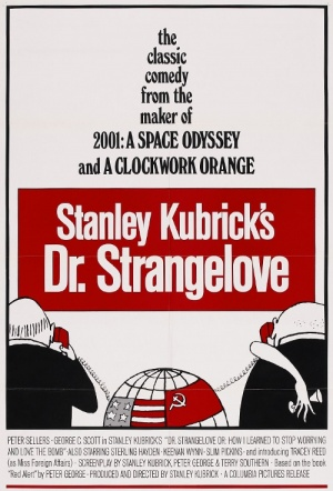 Dr. Strangelove or: How I Learned to Stop Worrying and Love the Bomb Film Poster