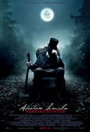 Abraham Lincoln: Vampire Hunter Film Poster
