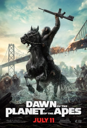 Dawn of the Planet of the Apes 3D Film Poster