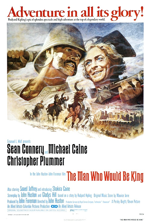 The Man Who Would Be King Film Poster