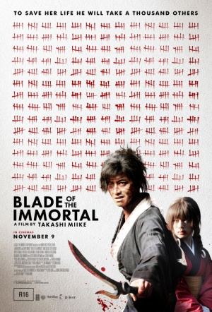 Blade of the Immortal Film Poster