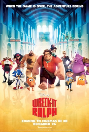 Wreck-It Ralph 3D Film Poster