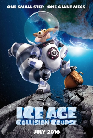 Ice Age: Collision Course 3D Film Poster