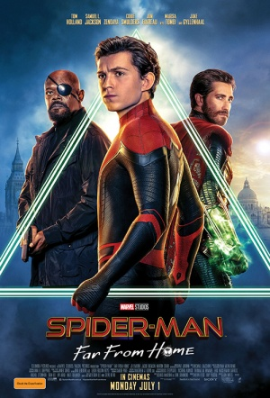 Spider-Man: Far From Home Film Poster