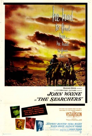 The Searchers Film Poster