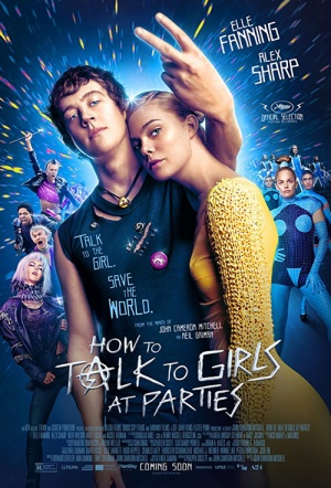 How to Talk to Girls at Parties Film Poster