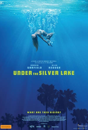 Under the Silver Lake Film Poster