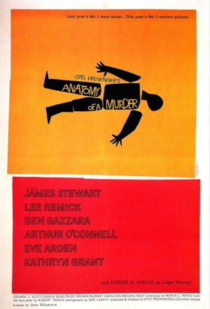Anatomy of a Murder Film Poster