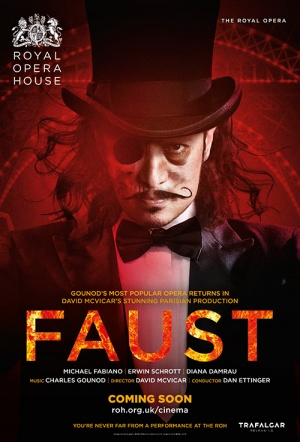 Royal Opera House: Faust Film Poster