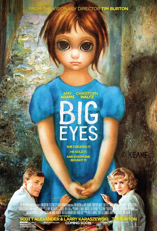Big Eyes Film Poster