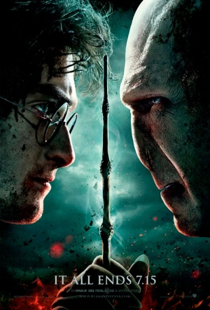 Harry Potter and the Deathly Hallows: Part II 3D Film Poster