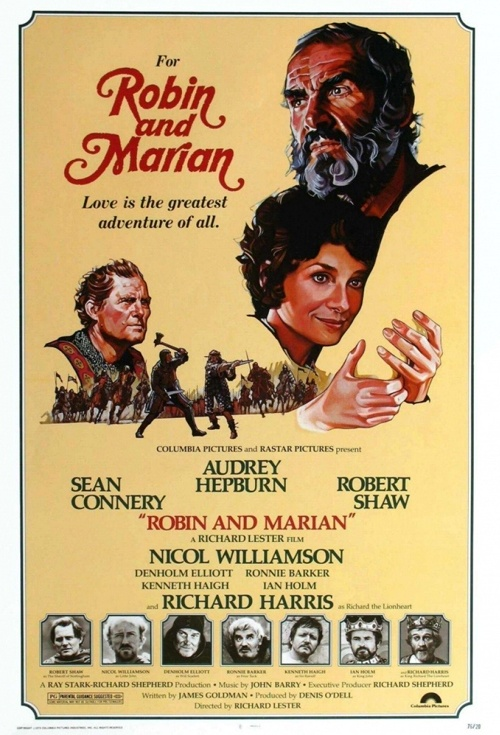 Robin and Marian Film Poster