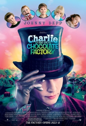 Charlie and the Chocolate Factory Film Poster
