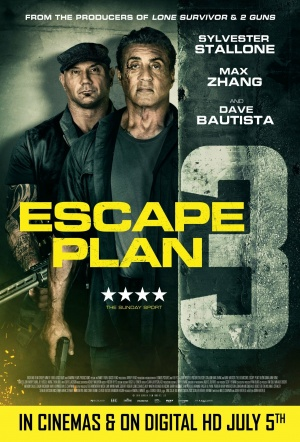 Escape Plan 3: The Extractors Film Poster