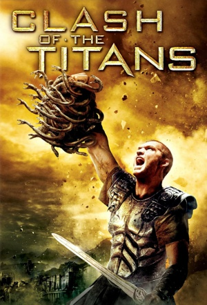 Clash of the Titans 3D Film Poster
