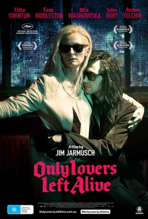 Only Lovers Left Alive Film Poster