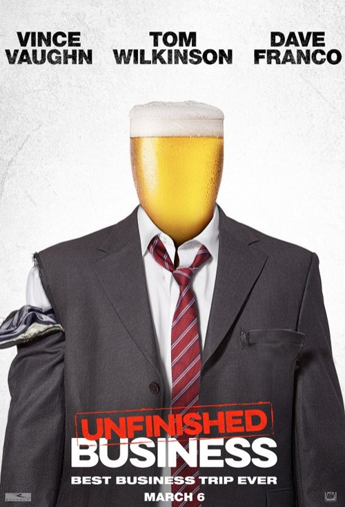 Unfinished Business Film Poster