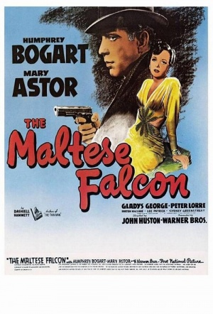 The Maltese Falcon Film Poster