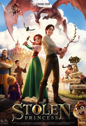 The Stolen Princess: Ruslan and Ludmila Film Poster