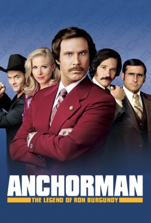 Anchorman: The Legend of Ron Burgundy Film Poster