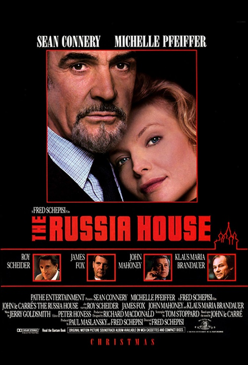 The Russia House Film Poster
