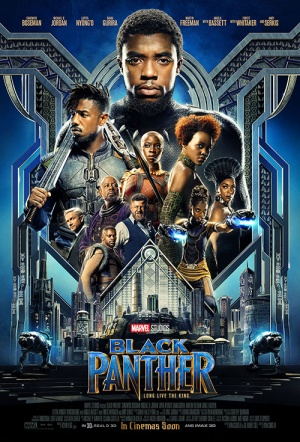 Black Panther 3D Film Poster