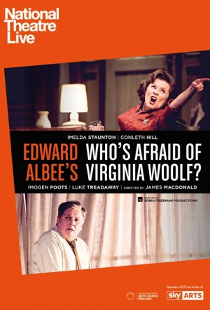 NT Live: Who's Afraid of Virginia Woolf? Film Poster
