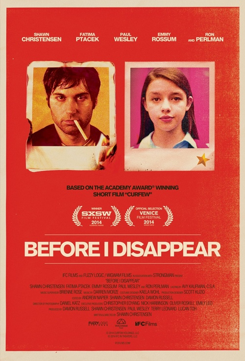 Before I Disappear Film Poster
