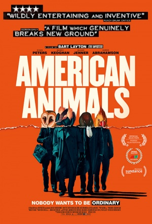 American Animals Film Poster
