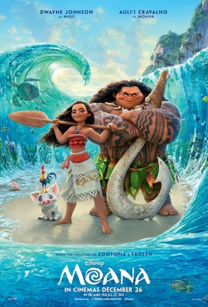 Moana Sing-Along Film Poster