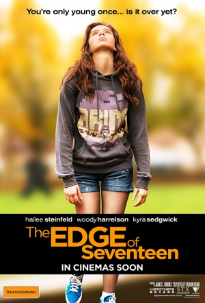 The Edge of Seventeen (2016) Film Poster