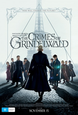 Fantastic Beasts 3D: The Crimes of Grindelwald Film Poster