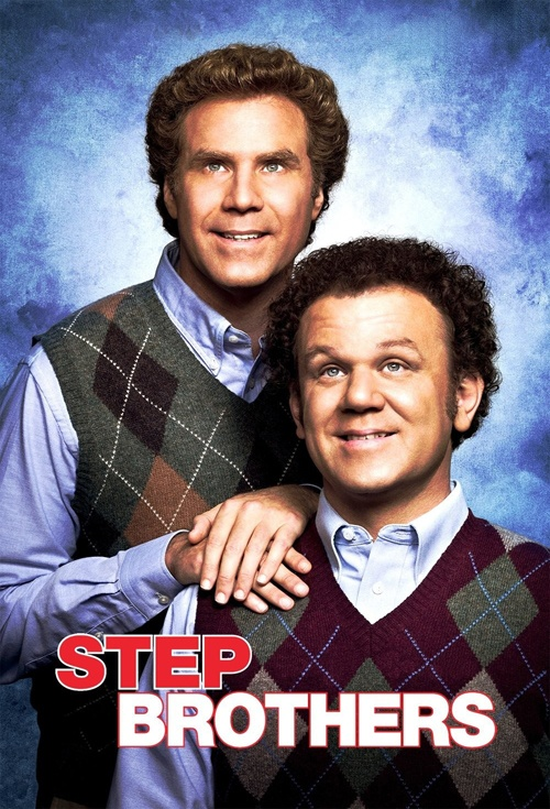 movie poster for step brothers flicksconz