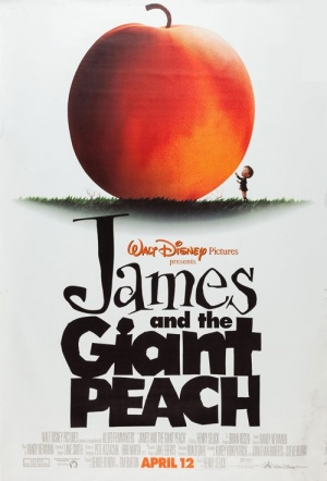 James and the Giant Peach Film Poster