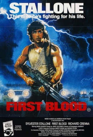 First Blood Film Poster