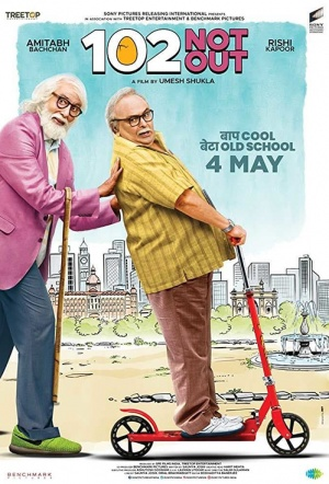 102 Not Out Film Poster
