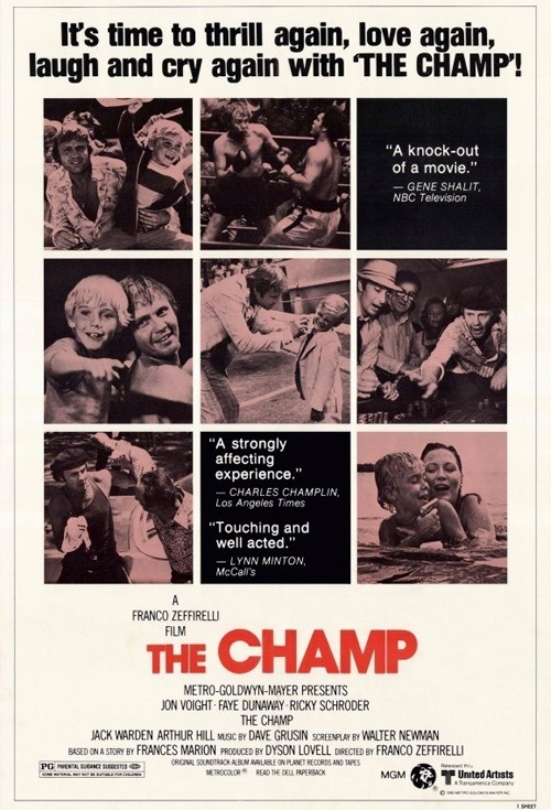 The Champ (1979) Film Poster