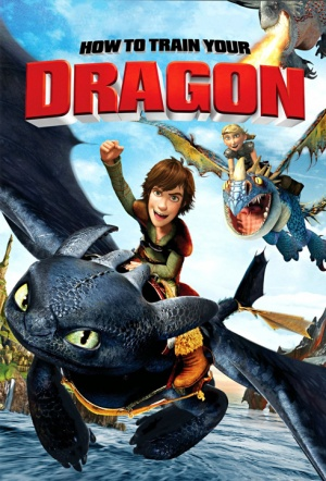 How to Train Your Dragon 3D (2010) Film Poster